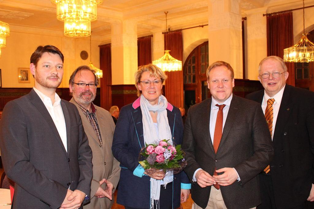 Landwirtschaftsministerin Otte-Kienast bei Schaumburger Mittelstand