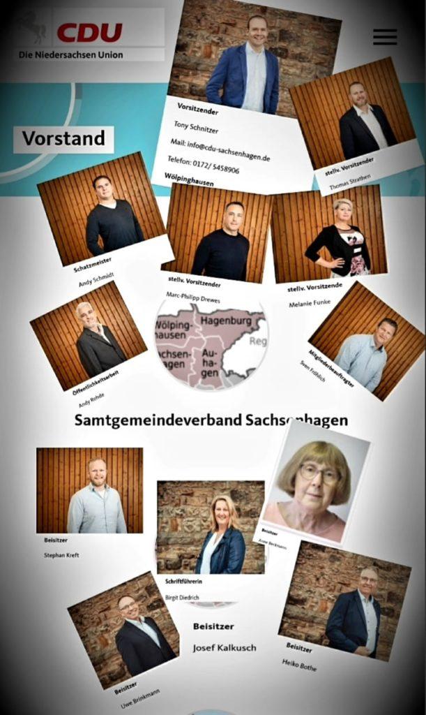 Vorstandswahlen im CDU-Samtgemeindeverband Sachsenhagen